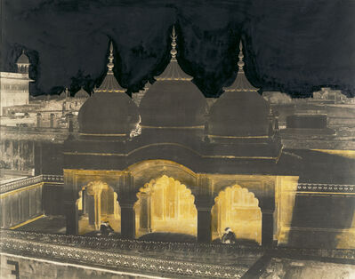 Dr. John Murray, 'Nagina Mosque, Agra Fort, India', 1857-1860