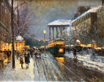 Vladimir Nasonov, 'Winter Promenade'