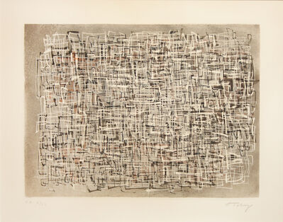 Mark Tobey, 'HIGH TIDE', 1974