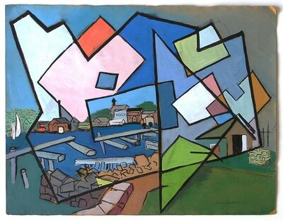 Morris Blackburn, 'Gloucester Harbor', 1946