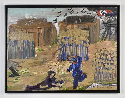 Ceija STOJKA, 'Untitled, barracks 10 and 9, Auschwitz', 2009