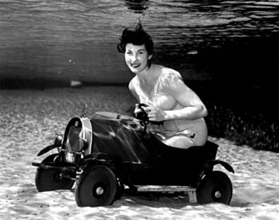 Bruce Mozert, 'Silver Springs Underwater (Driving a Car)', 1940-1970