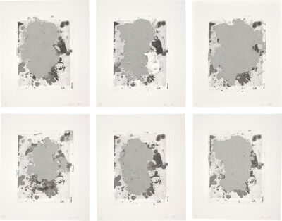 Christopher Wool, 'Portraits (b/w)', 2014