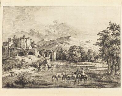 Jean-Jacques de Boissieu, 'The Temple of Vesta', 1774