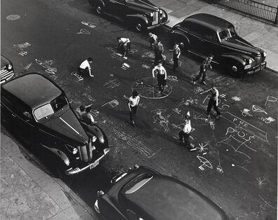 Arthur Leipzig, 'Chalk Games', 1950