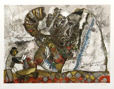 Theo Tobiasse, ' Les Hommes Arrivent du fond de leur passe', ca. 1972