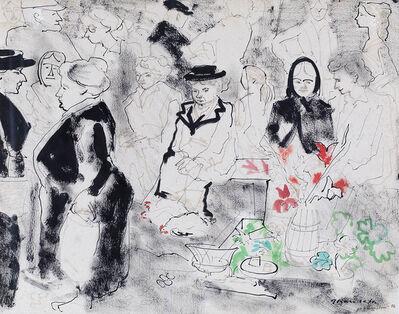 Emilio Grau Sala, 'Honfleur', 1954