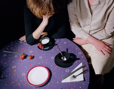 Jo Ann Callis, 'Purple Tablecloth', 1979