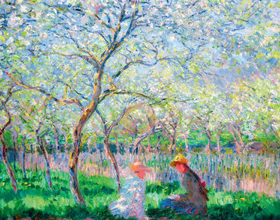 Claude Monet, 'Spring Time ', 1886