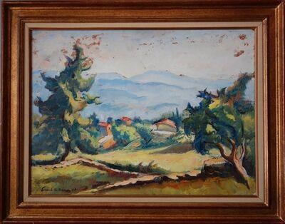 Jean Picart Le Doux, 'Landscape in Provence', 1952