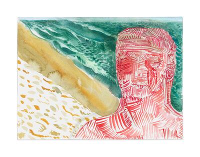 Nicole Eisenman, 'Slanted Beach', 2017
