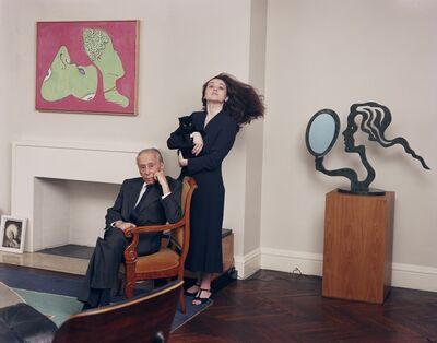 Tina Barney, 'Mr. and Mrs. Leo Castelli', 1998