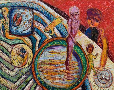 Nieves Saah, 'Looking at Fish', 2016