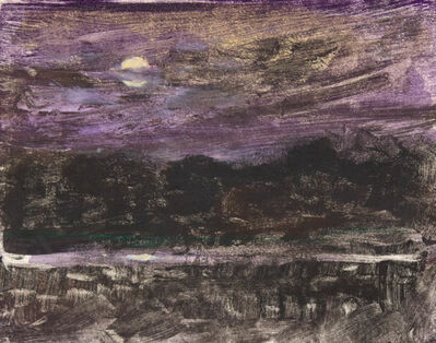 Thomas McNickle, 'MOON WITH PURPLE', 2013