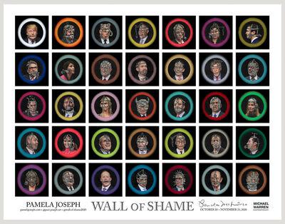 Pamela Joseph, 'Wall of Shame', 2020