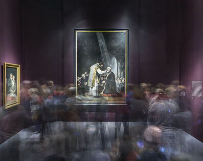 Matthew Pillsbury, 'Goya's Last Communion of Saint Joseph of Calasanz, Museum of Fine Art, Boston', 2014