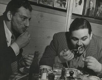 Lisette Model, 'Gallagher's, New York', 1944