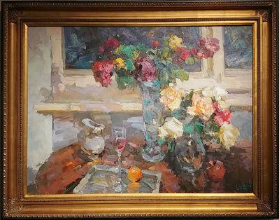 Alexander Shabadei, 'Evening Roses', 2018