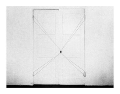 Steve Kahn, 'Bound Door #3, from Tha Hollywood Suites', 1976