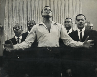 Roy DeCarava, 'Untitled (Harry Belafonte, Carnegie Hall).', 1960