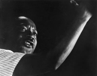 Harry Benson, 'Dr. Martin Luther King, Jr., Mississippi', 1966
