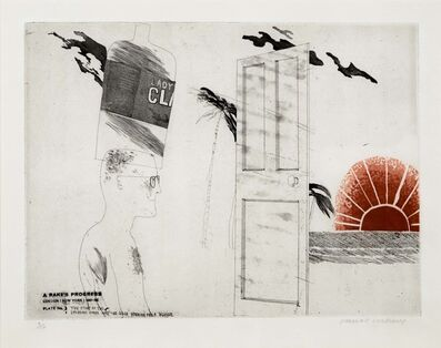 David Hockney, 'The Start of the Spending Spree', 1963