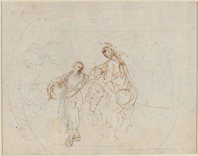 Stefano Della Bella, 'The Flight into Egypt [verso]'