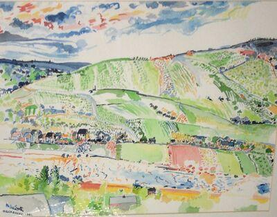 Philip Sutton RA, 'Oberbilleg (sic) ', 1982
