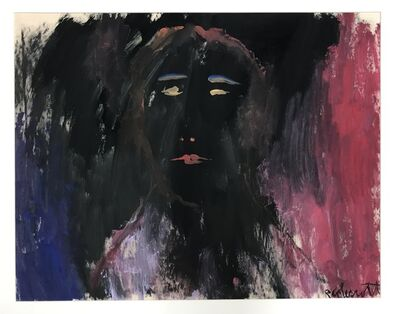 Robert Colescott, 'Untitled #9 (Dark Face)', ca. 1970