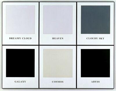 John Baldessari, 'Prima Facie (Fifth State): Dreamy Cloud / Heaven / Cloudy Sky / Galaxy / Cosmos / Abyss', 2006