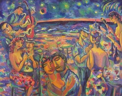 Luis Castellanos Valui, 'The Beach Bar'