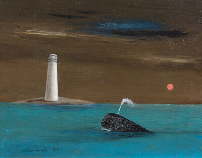 Gertrude Abercrombie, 'The Blue Whale', 1947