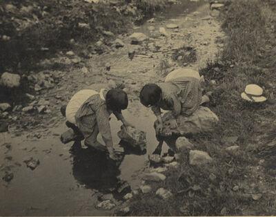 Alexis Delcroix, 'Les Jeunes Pecheuses (Young Fisherwomen)', 1934/1934