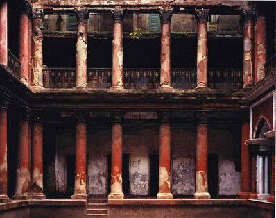 Laura McPhee, 'Courtyard Mitra House, Kolkata', 2001