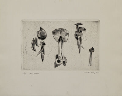 Dimitri Hadzi, 'Form Studies', 1961