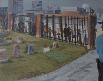Tom Torluemke, 'Waiting To Get In', 2013