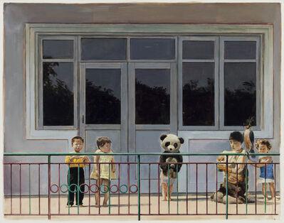 Jan De Maesschalck, 'Repainting the fence', 2014