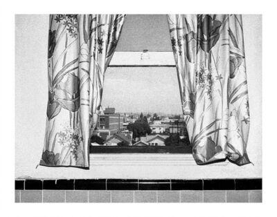 Steve Kahn, 'Hollywood Suites Window 13', 1977