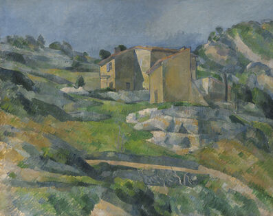 Paul Cézanne, 'Houses in Provence: The Riaux Valley near L'Estaque', ca. 1883