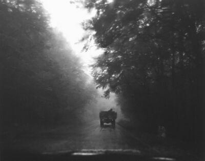 Pentti Sammallahti, 'Untitled, (Car driving away down Road)', 2003