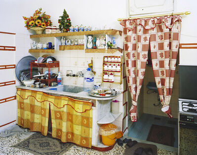 Lukas Einsele, 'Fatme Mourads Küche', 2010