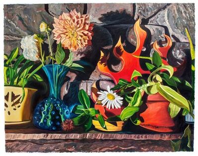 Julia Whitney Barnes, 'Dear Dahlia/Domestic Bliss (framed)', 2017