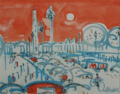 Herbert Siebner, 'Place de la Concorde', 1950-1985
