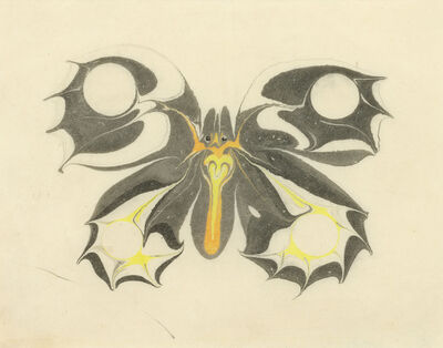 Koloman Moser, 'Butterfly', 1904