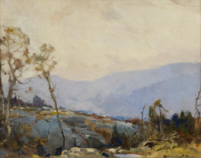 Chauncey Foster Ryder, 'Vesper's Ledge, New Hampshire', ca. 1929