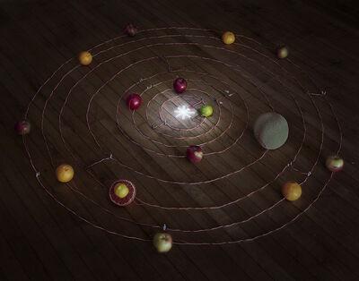 Caleb Charland, 'Fruit Battery Solar System', 2014