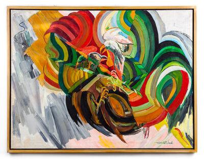 Wadsworth Jarrell, 'Cockfight', 1965