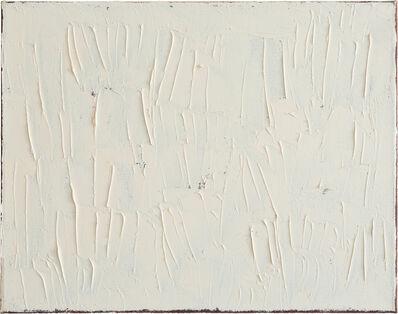 Raimund Girke, 'white structure', 1991