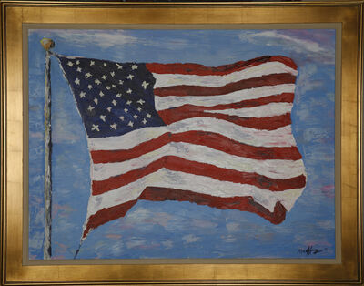 Geoffrey C. Smith, 'Old Glory', 2018