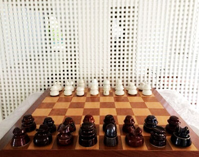 Otavio Schipper, 'Xadrez para R.Mutt (Chess for R.Mutt)', 2016